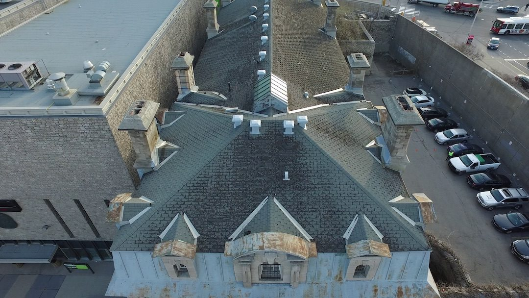 Ottawa Jail Hostel Roof Survey